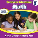 Premium Education Math Grade 5 - PDF  Download [Download]