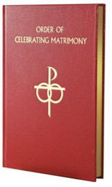 Order of Celebrating Matrimony, Bonded Leather