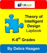 Theory of Intelligent Design Lapbook - PDF Download [Download]