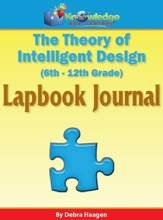 Theory of Intelligent Design Lapbook Journal - PDF Download [Download]