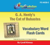 Henty's Historical Novel: Cat of Bubastes Vocabulary Flash Cards - PDF Download [Download]