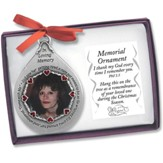 Memorial Photo Ornament, Female