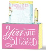 You Are Blessed, Pen & Notepad Set