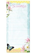 Count Your Blessings, Magnetic Note Pad