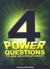 4 Power Questions to Ask an Evolutionist, DVD