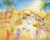 Child Nativity Advent Calendar