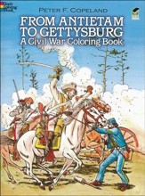 From Antietam to Gettysburg: A Civil  War Coloring Book