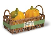 Harvest Blessings, Pumpkin Salt & Pepper Set