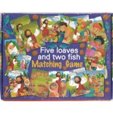Five Loaves and Two Fish Matching Game