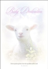Baby Dedication Certificate, Lamb  (6)