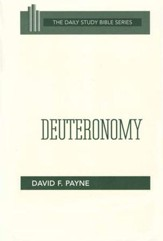 Deuteronomy: Daily Study Bible [DSB]
