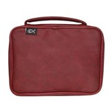 Deluxe Bible Cover, Burgundy, X-Large