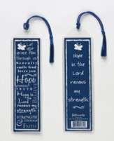 Hope Bookmark, Blue