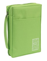 Faith Bible Cover, Green, Large