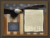 Declaration of Independence, 2 Chronicles 2:14, Framed Art
