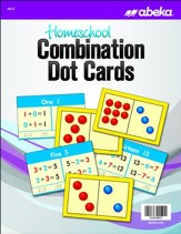 Abeka Homeschool Combination Dot  Cards Grades K5-2 (New  Edition)