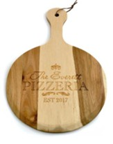 Personalized, Wooden Pizza Paddle, Pizzeria