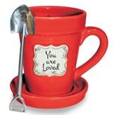 You Are Loved, Flower Pot Mug