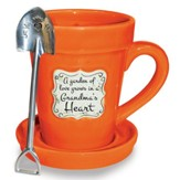 A Garden of Love Grows in a Grandma's Heart, Flower Pot Mug