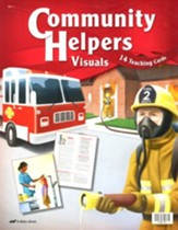 Abeka Community Helpers Visuals (Grade K5; 14 Cards)