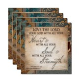 Love The Lord Coaster Set of 4