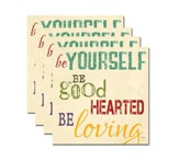 Be Yourself Coaster Set of 4