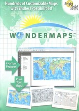 Wondermaps on CD-ROM