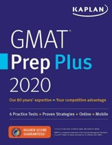 GMAT Prep Plus 2020: Practice Tests,  Proven Strategies, Online, Video, Mobile