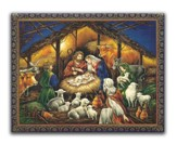 Nativity Scene Christmas Cards, Box of 18