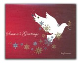 Season's Greetings, Dove, Christmas Cards, Box of 18