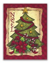Noel, Christmas Tree, Christmas Cards, Box of 18