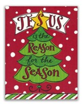 Jesus is the Reason for the Season, Christmas Tree, Christmas Cards, Box of 18