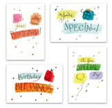 Birthday Fun Cards, Box of 12
