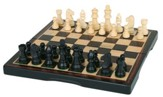 Chess Set, Ebony Wood