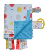 ABC Lovey Tag Blankie, Primary Colors