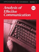 Applications of Grammar Book 3: Analysis of Effective Communication Grade 9