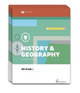 Lifepac History & Geography Workbook  Set, Grade 4