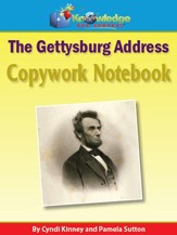 Abraham Lincoln Gettysburg Address Copywork Notebook: With Vocabulary Extensions (Printed Edition)