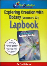 Apologia Exploring Creation with Botany Lessons 6-13 Lapbook (Assembled Edition)