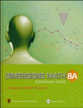 Dimensions Math Textbook 8A  (Hardcover)