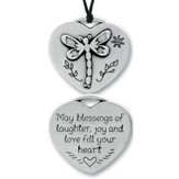 May Blessings Fill Your Heart, Pocket Pendant