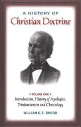 A History of Christian Doctrine, Volume 1