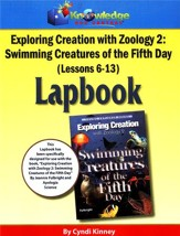 Apologia Exploring Creation with Zoology 2: Swimming  Creatures of the 5th Day Lessons 6-13 Lapbook