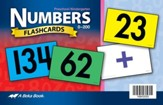 Abeka K5 Numbers Flashcards (104 cards)