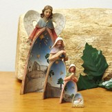 Holy Family Nesting Nativity Set 4 Pieces