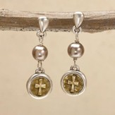 Faith Coin Earrings
