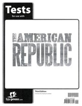 BJU Heritage Studies: The American Republic Grade 8 Test Packet  (Third Edition)