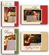 Bible & Poinsettia, Assorted Christmas Cards, Box of 12