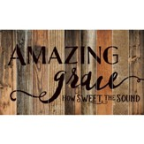 Amazing Grace, Barn Board Wall Art