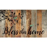 Bless This Home, Barn Board Wall Art